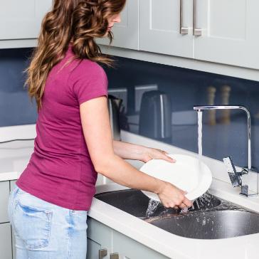 kitchen water savings